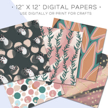 Load image into Gallery viewer, Digital Paper, Serenity Digital Paper Set - TWG Designs