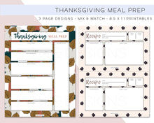 Load image into Gallery viewer, Printables, Thanksgiving Meal Prep Printables - TWG Designs