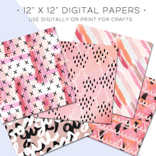Load image into Gallery viewer, Digital Paper, Desktop Flatlay Digital Paper Set - TWG Designs