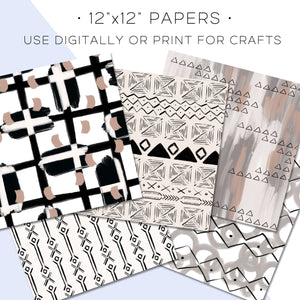 Digital Paper, Hygge Digital Paper Set - TWG Designs