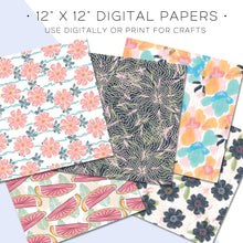 Load image into Gallery viewer, Digital Paper, Salt & Sun Digital Paper Set - TWG Designs