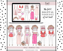 Load image into Gallery viewer, Kimi Klose, Kimi Klose - Digital Paper Doll Bundle (Sweet Summer) - TWG Designs