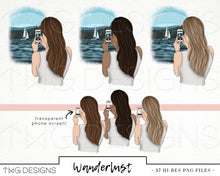 Load image into Gallery viewer, Collections, Wanderlust Clip Art Collection - TWG Designs