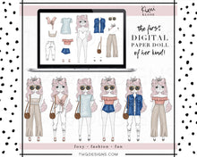 Load image into Gallery viewer, Kimi Klose, Kimi Klose - Digital Paper Doll Bundle (Spring Style) - TWG Designs