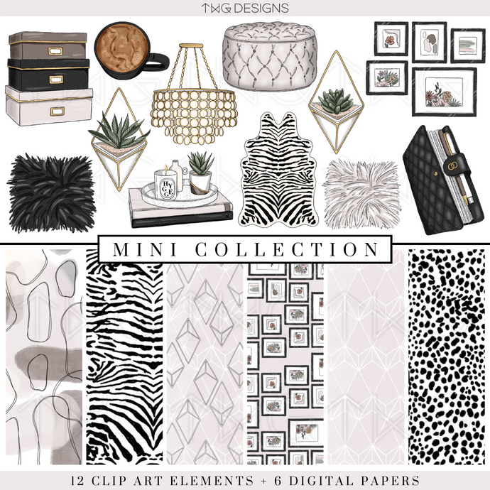 Chic Office Mini Collection