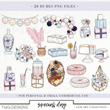 Load image into Gallery viewer, Collections, Special Day Clip Art Collection - TWG Designs