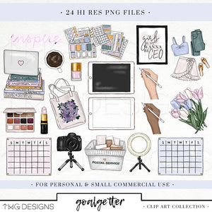 Collections, Goalgetter Clip Art Collection - TWG Designs