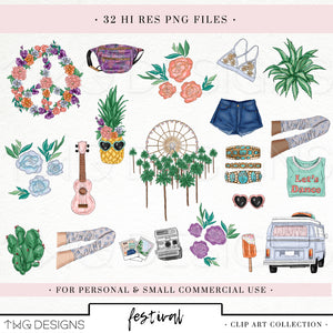 Collections, Festival Clip Art Collection - TWG Designs