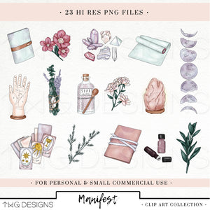 Collections, Manifest Clip Art Collection - TWG Designs