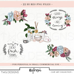 Collections, Refresh Clip Art Collection - TWG Designs