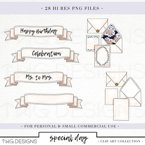 Collections, Special Day Clip Art Collection - TWG Designs