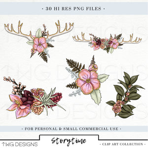 Collections, Storytime Clip Art Collection - TWG Designs