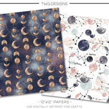 Load image into Gallery viewer, Digital Paper, Celestial Digital Paper Set - TWG Designs