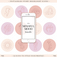 Load image into Gallery viewer, Mindful Mood Instagram Story Highlight Icons