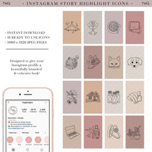 Load image into Gallery viewer, Lifestyle Instagram Story Highlight Icons