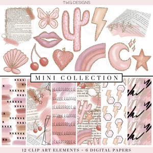 Pink Edit Mini Collection