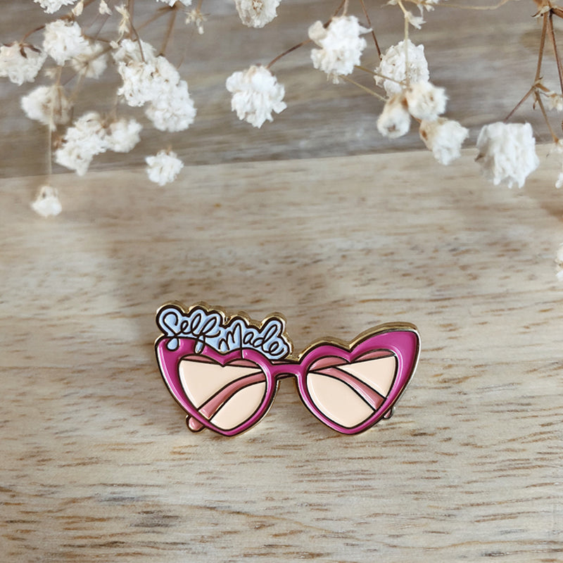 Enamel Pin, Self Made Sunnies - TWG Designs