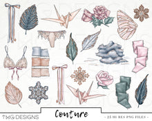 Load image into Gallery viewer, Collections, Couture Clip Art Collection - TWG Designs
