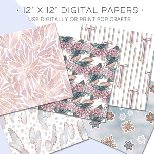 Digital Paper, Couture Digital Paper Set - TWG Designs
