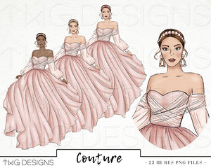 Collections, Couture Clip Art Collection - TWG Designs