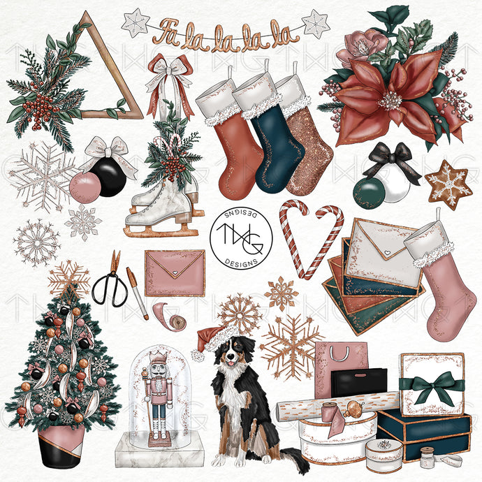 Collections, Chic Holiday Clip Art Collection - TWG Designs