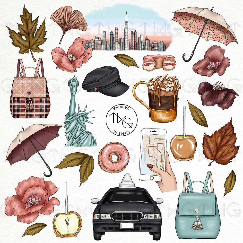 Collections, City Sweets Clip Art Collection - TWG Designs