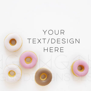 Styled Stock Photos, Donuts Styled Stock Photo - TWG Designs