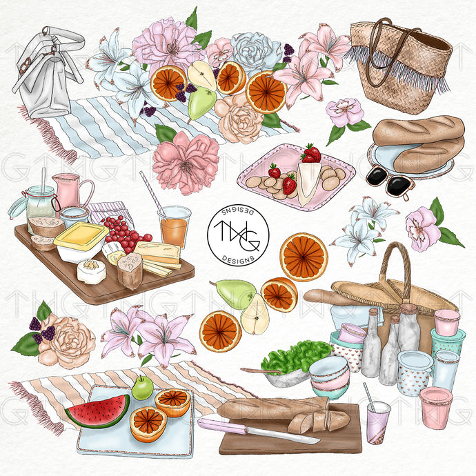 Collections, Park Picnic Clip Art Collection - TWG Designs