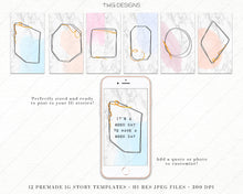 Load image into Gallery viewer, Design Elements, Pastel Frame Builder Kit - Clip Art Elements - TWG Designs