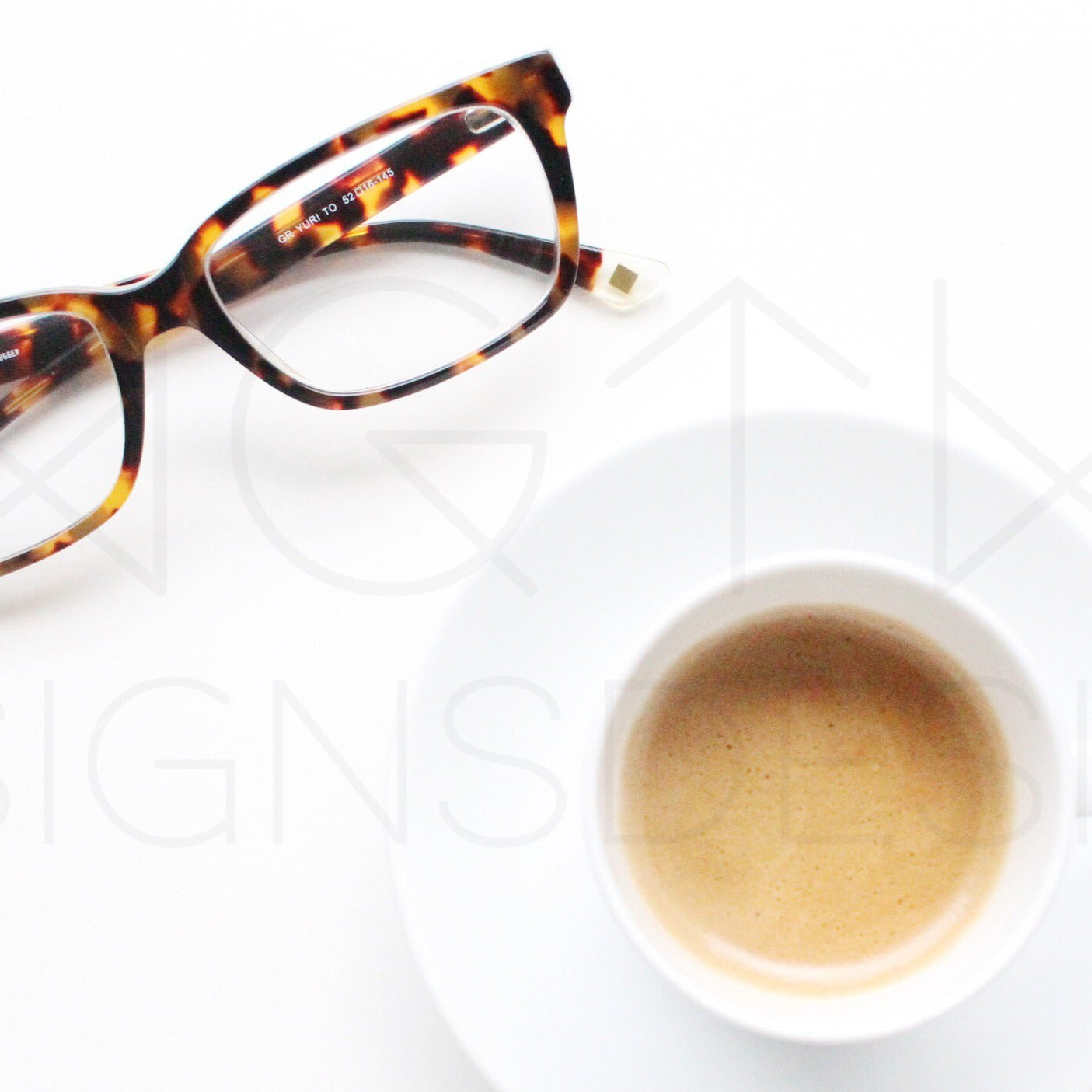 Coffee Break Styled Stock Photo