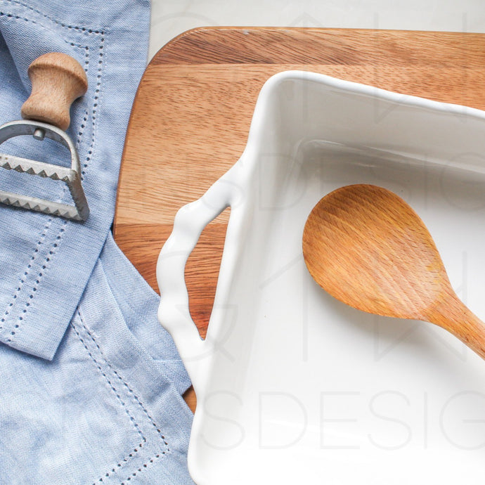 Baking Prep Styled Stock Photo