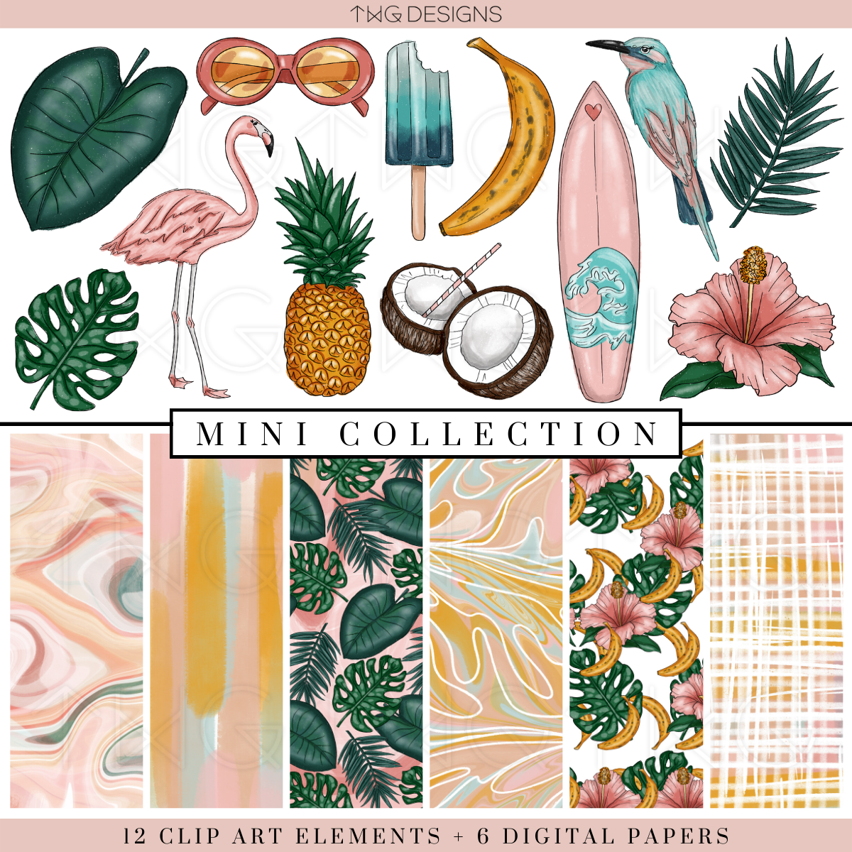 So Tropical Mini Collection