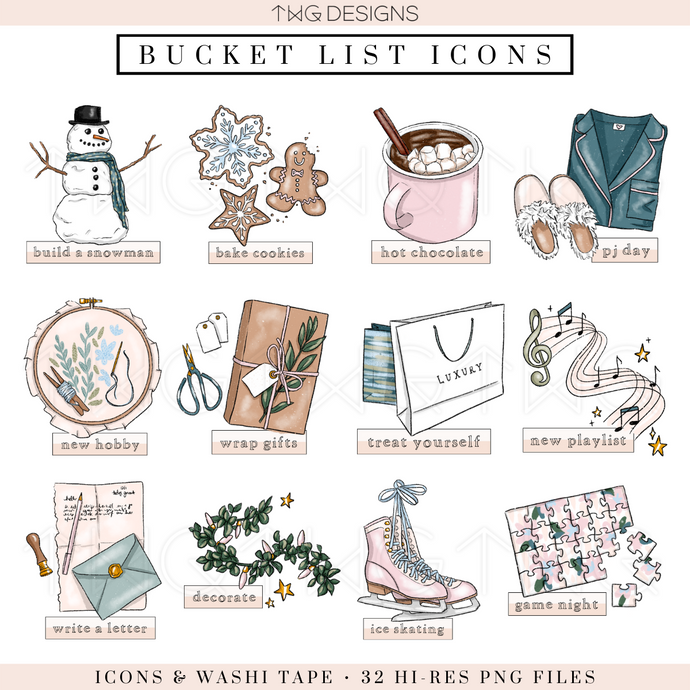 Winter Chill - Bucket List Icons