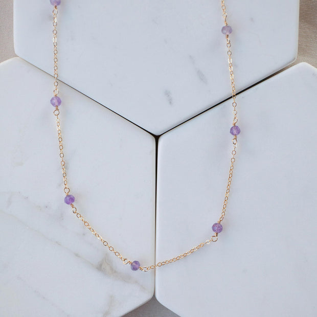 Amethyst Classic Necklace