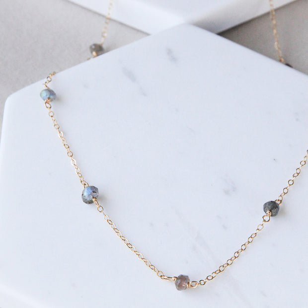 Classic Labradorite Necklace