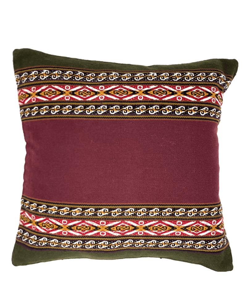 Samincha Handwoven Pillow Cushion Cover-Peruvian Nuna