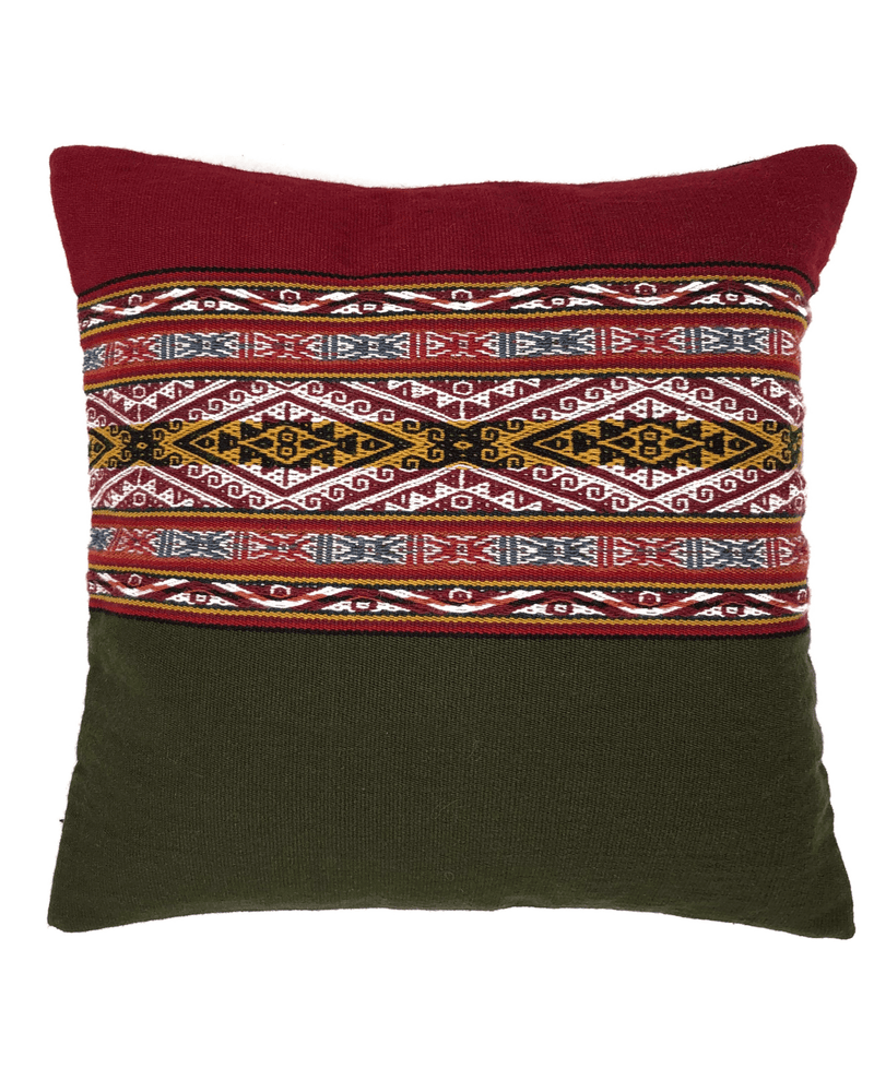 Sinchi Handwoven Wool Pillow Cushion Cover