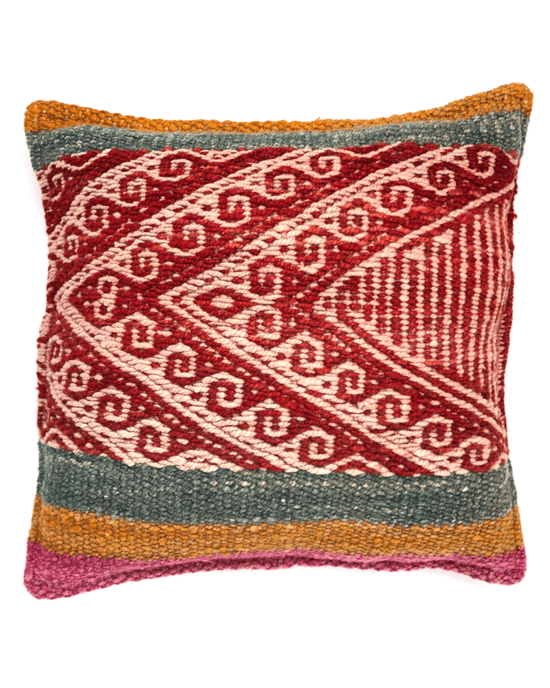 Yanay Handwoven Wool Pillow Cushion Cover