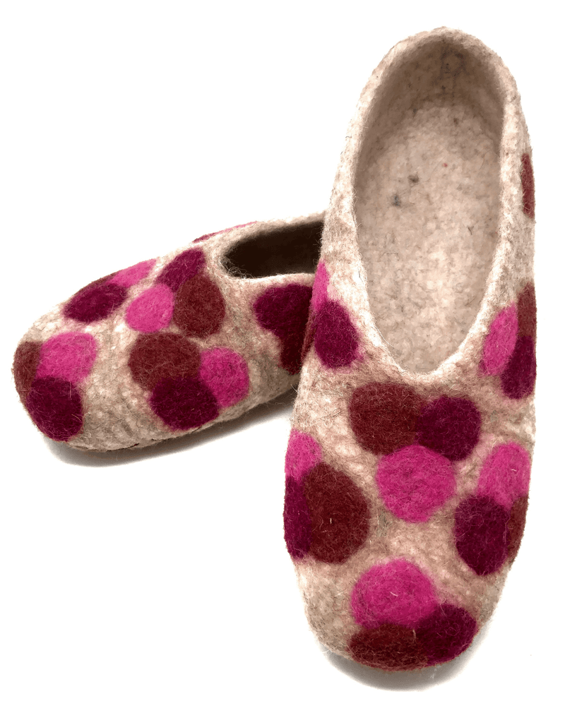 Load image into Gallery viewer, Atik Felted Wool Slippers - Size 7.5-Peruvian Nuna
