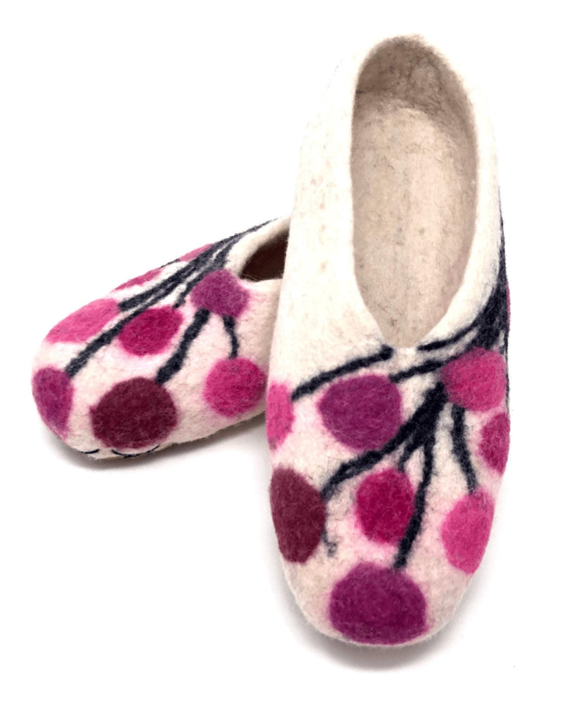 Load image into Gallery viewer, Wayta Felted Wool Slippers - Size 7-Peruvian Nuna
