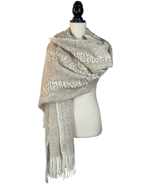 Load image into Gallery viewer, Ampi Alpaca Wool Shawl-Peruvian Nuna