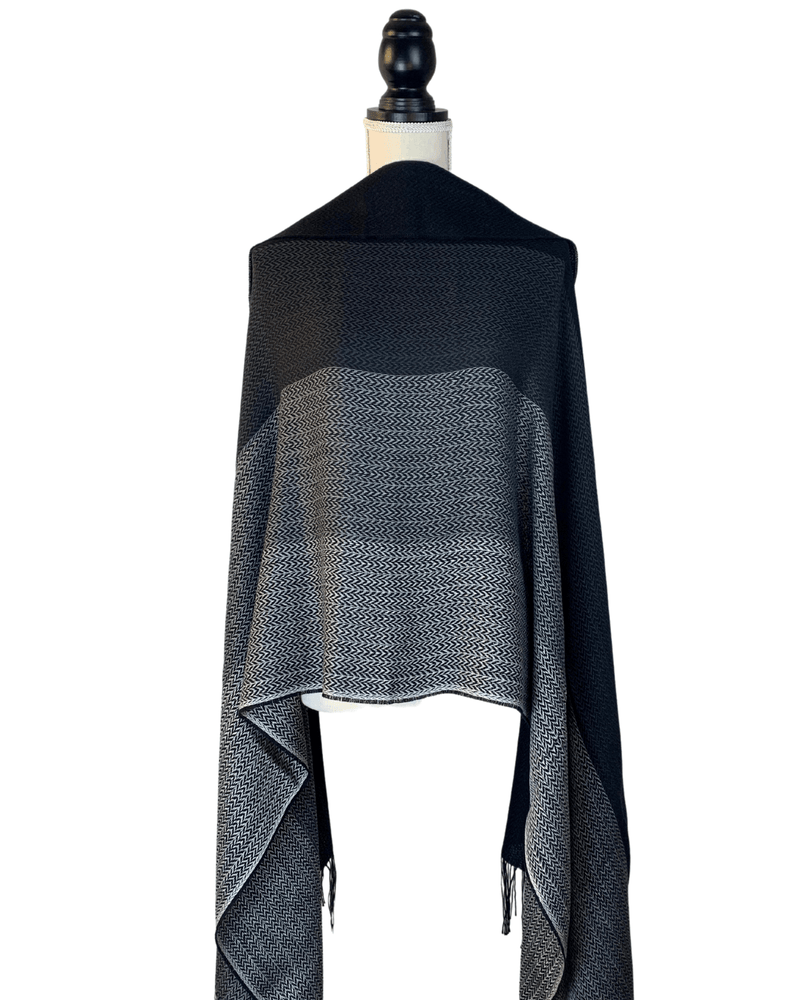 Load image into Gallery viewer, Urma Alpaca Wool & Silk Shawl-Peruvian Nuna