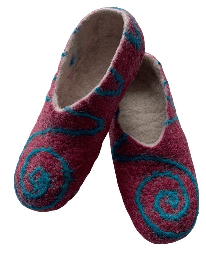 Load image into Gallery viewer, Caraz Felted Wool Slippers-Peruvian Nuna