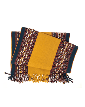 Inti Handwoven Peruvian Table Runner-Peruvian Nuna