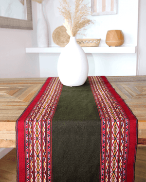 Peruvian Nuna Table Runner Tika Handwoven Table Runner