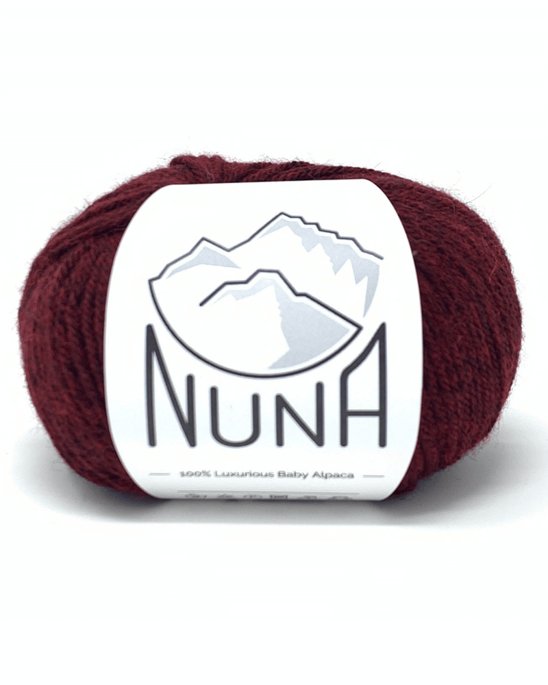Load image into Gallery viewer, Peruvian Nuna Yarn Sami DK - Melange Red 50g