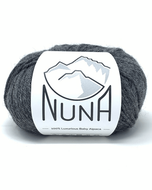 Load image into Gallery viewer, Peruvian Nuna Yarn Sami DK - Solid Dark Gray