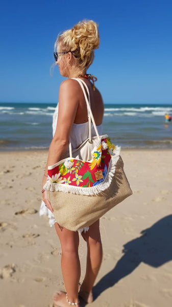 Flor da Mata Brazil⎜Customer France Areias Beach Bag