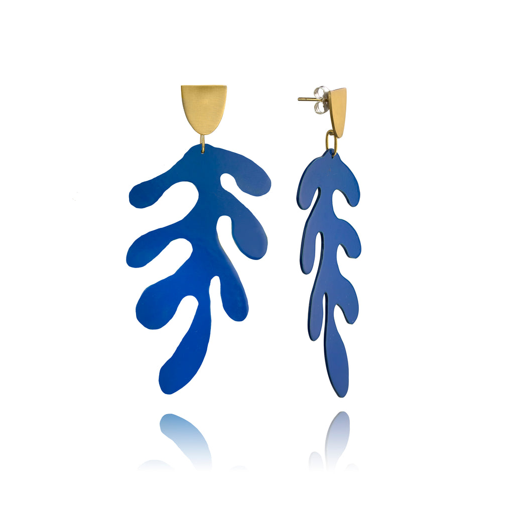 Matisse Earrings—Goldplated