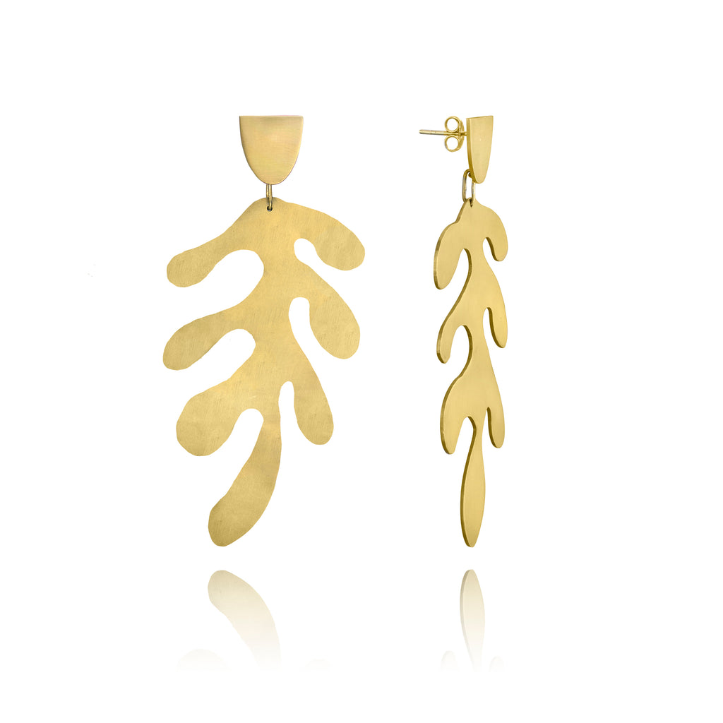 Matisse Earrings—Sage